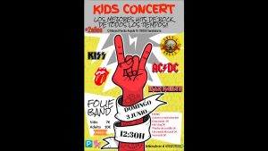 Kids Concert – Domingo 3 de junio